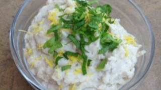 Pasta z fasoli ziołowo-cytrynowa