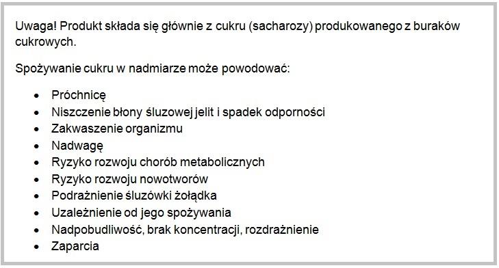cukier-metabolizm